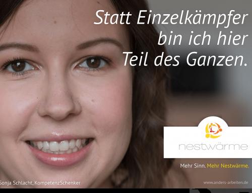 """Wir suchen in Frankfurt am Main für unser prämiertes Projekt """"ZeitSchenken"""" eine Teamleitung"""